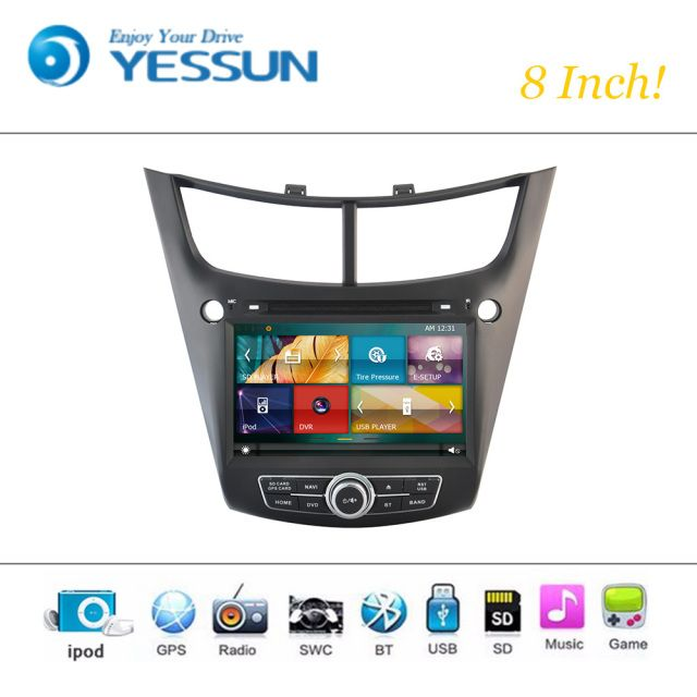 Car DVD Player Wince System For Chevrolet Salt 2014-2015 Autoradio Car Radio Stereo GPS Navigation Multimedia Audio Video