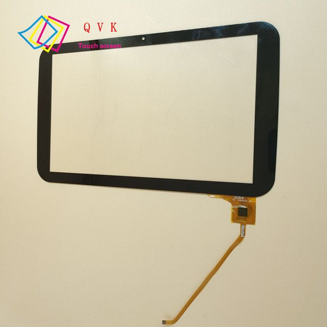 With frame 10.1inch QSD 702-10061-03 touch screen panel digitizer glass sensor replacement for QUMO Sirius 1001 tablet pc