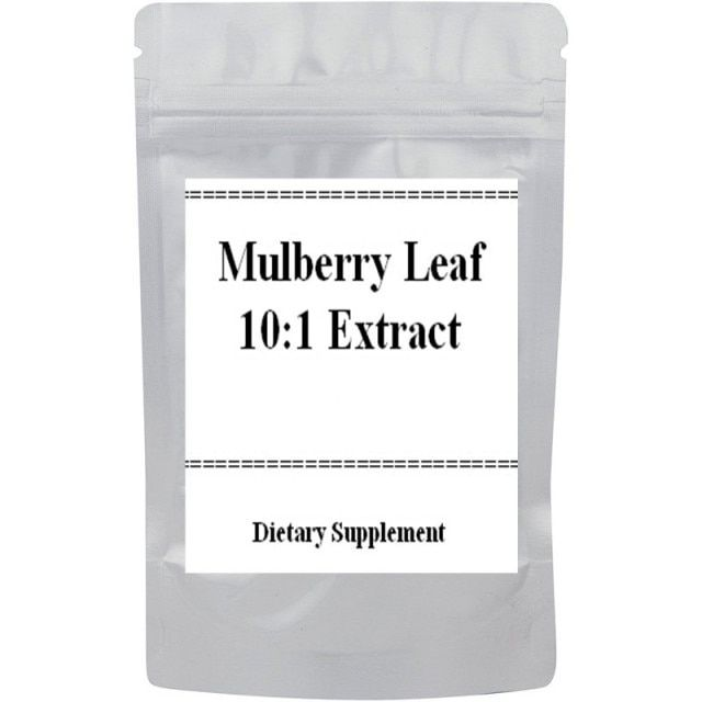 White Mulberry Leaf Extract 10:1 Powder free shipping