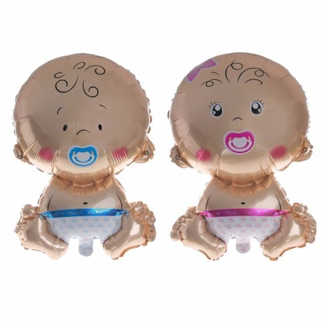 New Boy Girl Baby Shower Helium Balloons Christening Birthday Decoration Foil