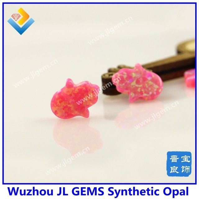 (3pcs/lot)Lab Created Opal Hamsa Stone 11*13MM OP42 Light Pink Color Fatima Hand Opal Stone Fire Synthetic Opal Hamsa in stock