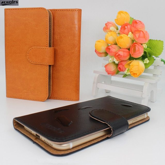 Hot! 2017 iRULU Victory V4 Case, 6 Colors High quality Full Flip Customize Leather Exclusive Cover Phone Bag Tracking