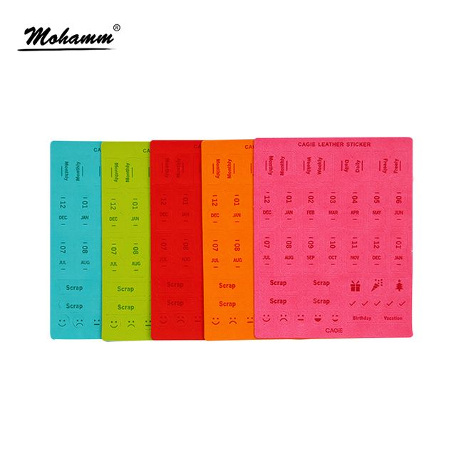 1 Pcs Cute Kawaii Number Alphabet Scrapbook Decorative Book Stickers Page Markers Multifunction Office School Crafting Supplies