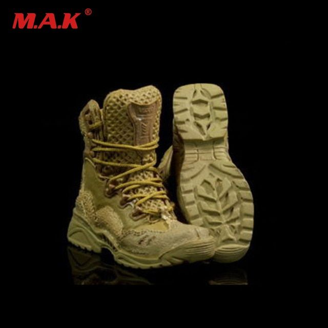 2 colors  1:6 Scale Spider ( Desert) Tactical Boots With Foor Joint For 12 Inch Male Soldier Body Figure Accessories