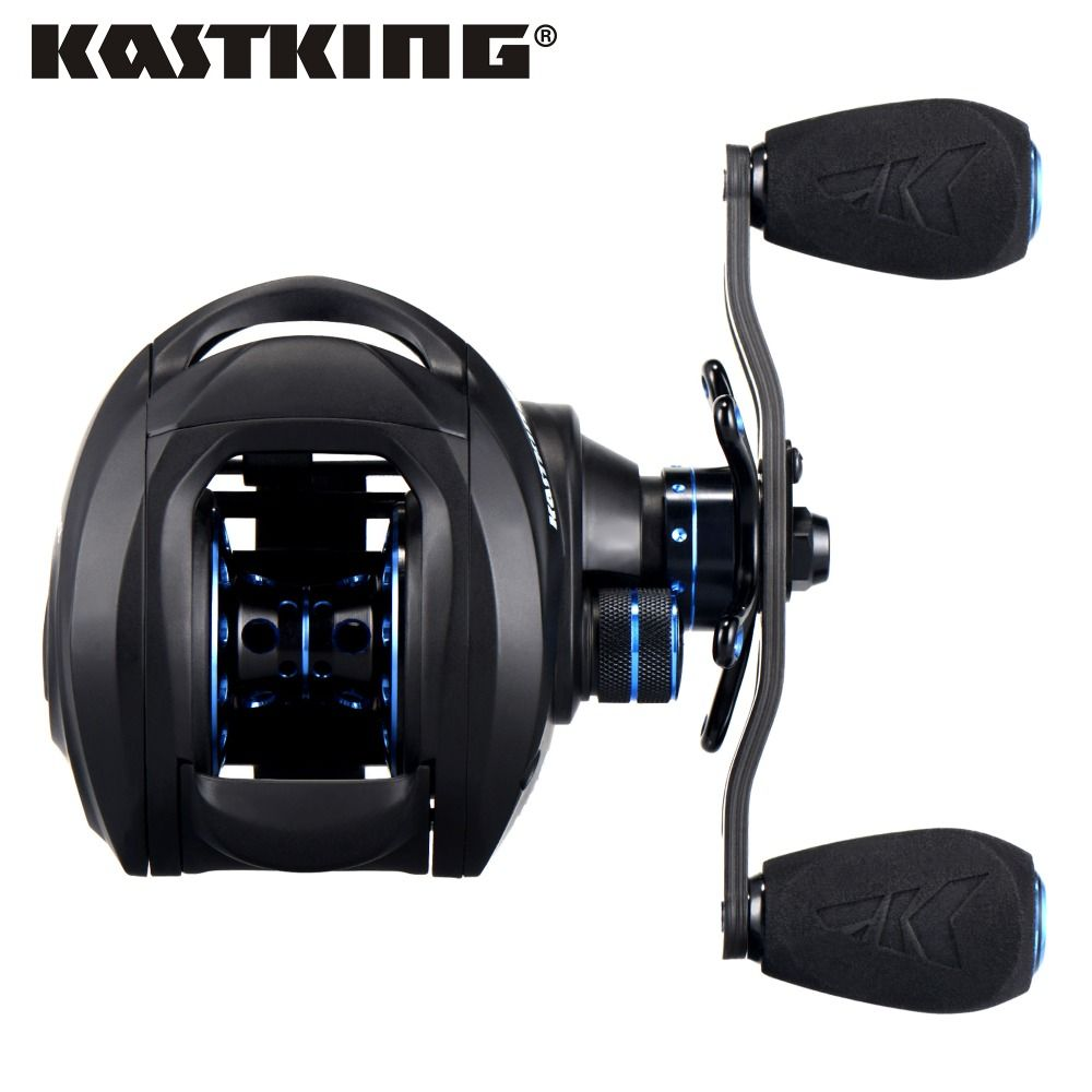 KastKing Assassin 7.5KG Drag Carbon Baitcasting Reel for Winter Ice Fishing 12BBs High Speed 6.3:1 Lure Fishing Reel