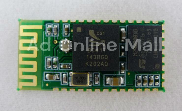 10 pcs  RF Wireless Bluetooth UART RS232 converter  Transceiver Module  HC-06 Free Shipping