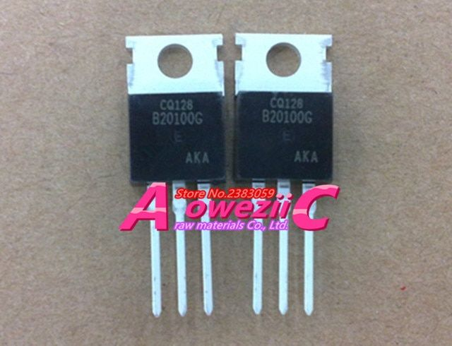 Aoweziic 2017+ 100% new original  MBR20100CT MBR20100 TO-220 Schottky barrier diode 20A 100V
