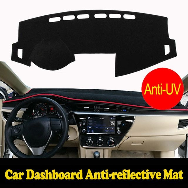 Car dashboard Covers For Mitsubishi LANCER EX ES 2010-2016 years Right hand drive custom dashmat car dash pad auto accessories