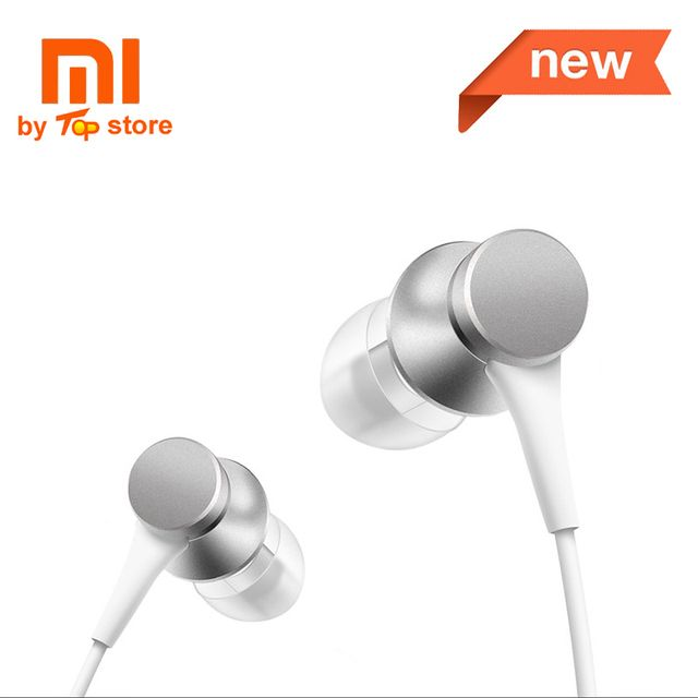 Original Xiaomi Xiomi Youth Version In-ear piston 3 Earphone with Mic Wire Control MI headset for mobile phone fone de ouvido