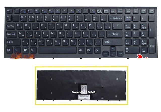 SSEA New Russian Keyboard For Sony Vaio VPC-EB VPC EB pcg-71211v VPCEB36FG VPCEB4J1R laptop RU keyboard