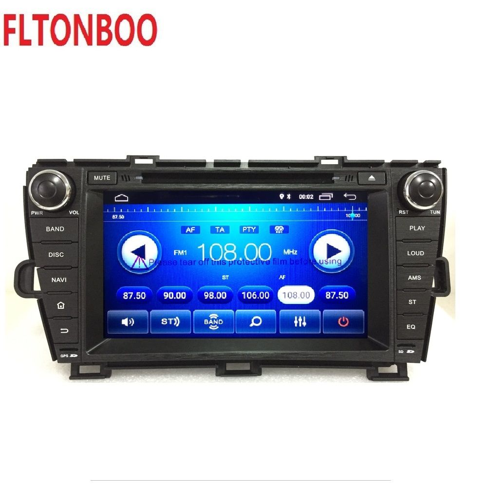 "8"" Android 8.1for Toyota prius left 2din car dvd,gps navigation,wifi,radio,bluetooth,Steering wheel,Free 8g Map,mic,touch screen"