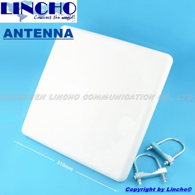 5.8ghz 23dB high gain panel antenna, 5.8GHz wifi wireless transceiver antenna
