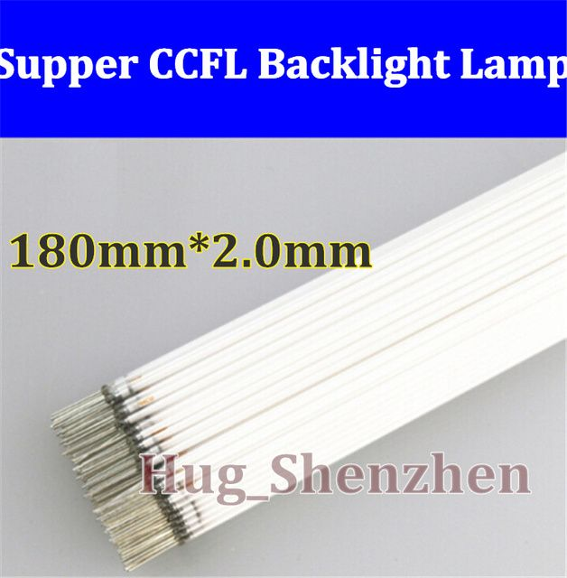 10pcs High Quality CCFL 180 mm* 2 mm CCFL LCD Backlight Lamp 180mm lamp free shipping