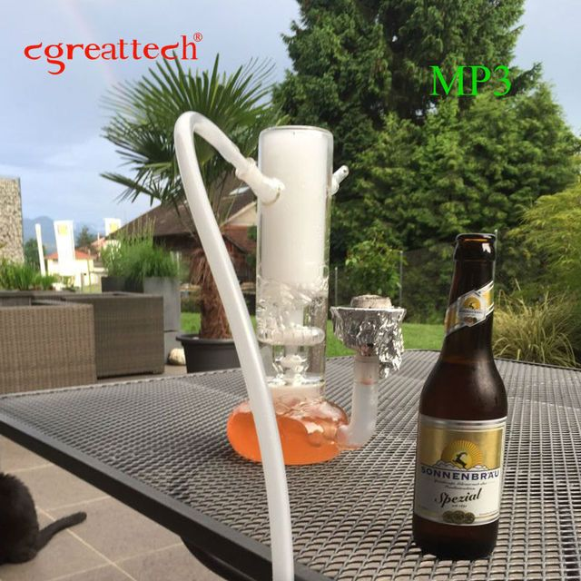Cgreattech narguile smoking shisha nargile art glass hookah which is all hand made hookah