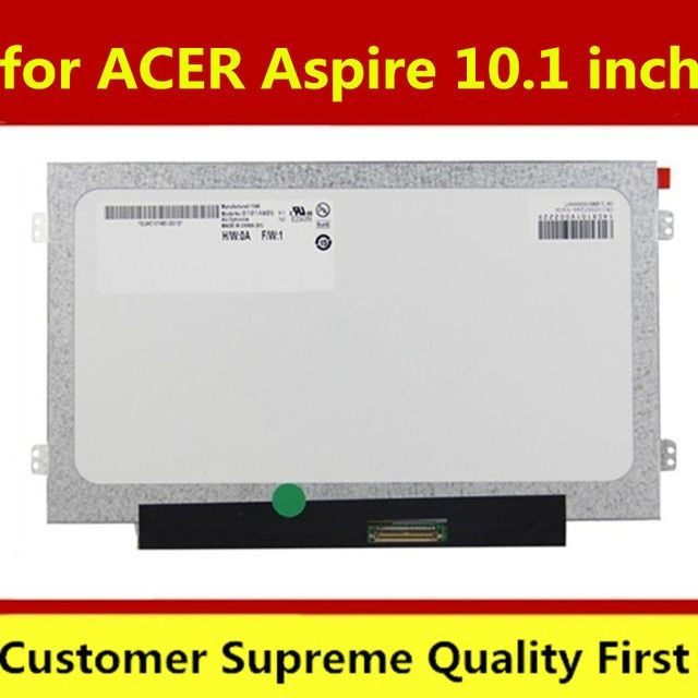 "100% working 10.1"" slim LED Screen Display B101AW06 V.1 LTN101NT05 N101L6-L0Dfor ACER ASPIRE ONE D255 D260 D257 D270 LCD Screen"