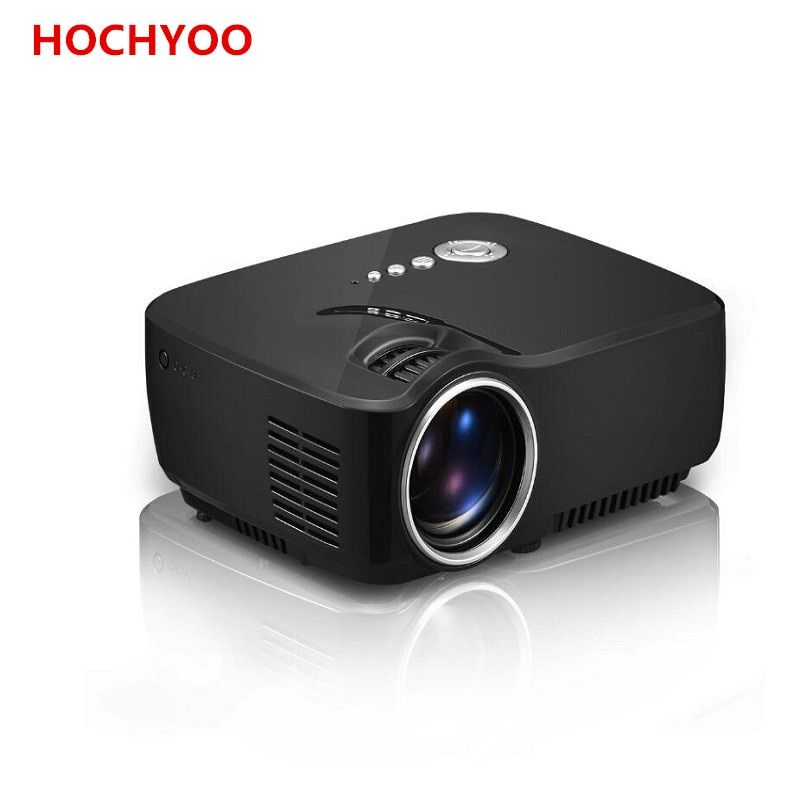 Portable Mini Led Projector 1200 Lumens Support 1080P For Home Theater Projector By Double HDMI GP70