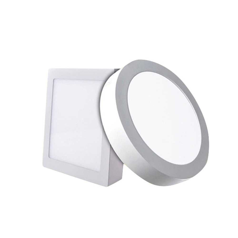 12W/18W Round/Square Led Panel Light Surface Mounted Downlight lighting Led ceiling down AC85-265V + Driver