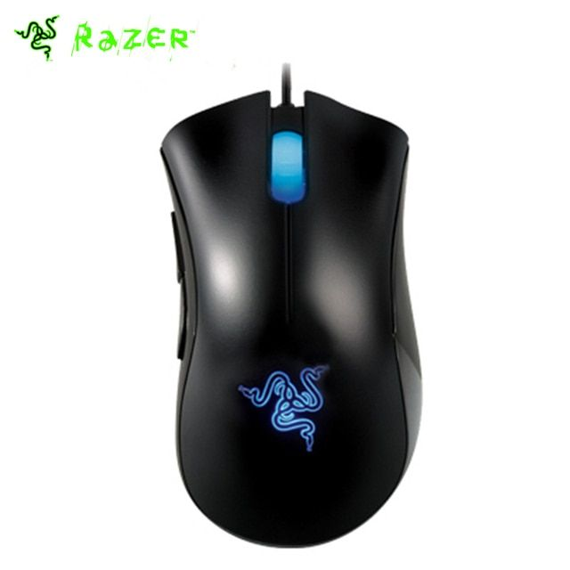 Genuine Razer Deathadder 3500DPI 3.5G Infrared Sensor Gaming Mouse Right-handed Design Egonomic Gaming Mouse Lowest Price