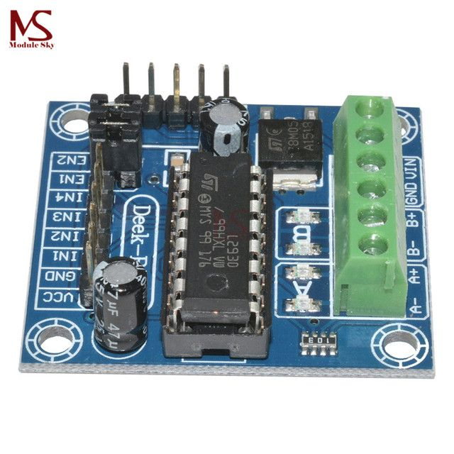 Mini 4-Channel Motor Drive Shield Expansion Board L293D Module High Voltage Current For Arduino UNO MEGA 2560