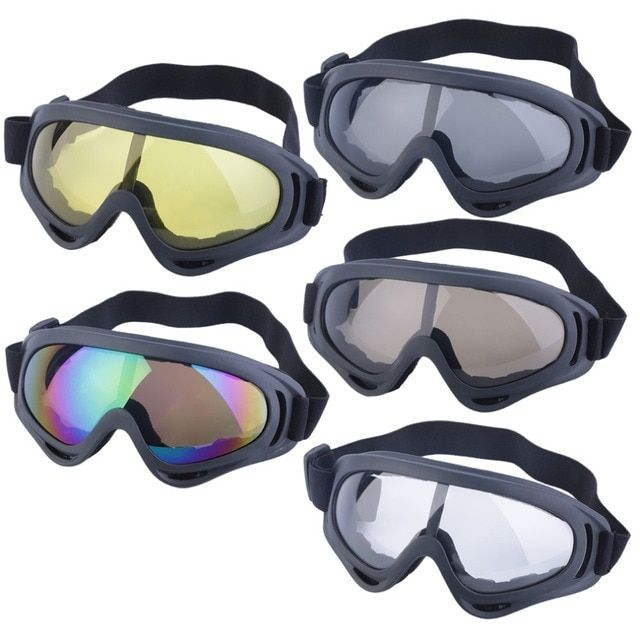 YHX YHX 2016 NEW arrival  Goggles Glasses Motor off road MotoCross Skiing Helmet Snow Eyewear Lens