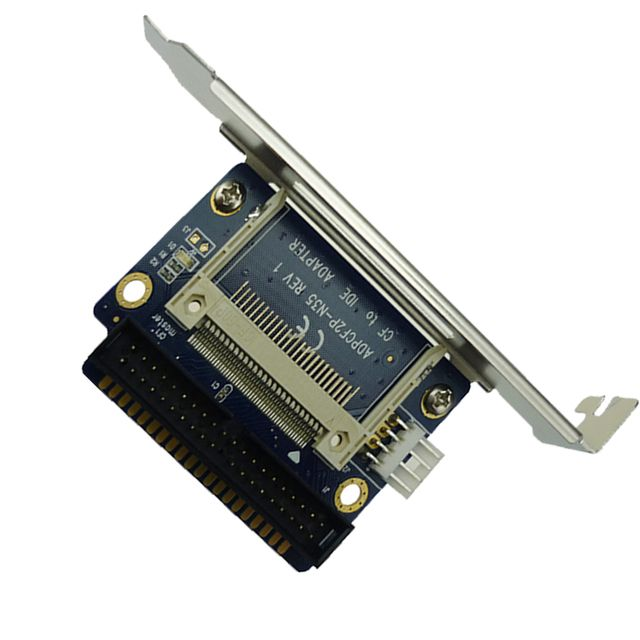 40 Pin IDE Bootable Adapter Compact Flash CF to 3.5 male Converter Card Wholesale PromotionHot New Arrival ADP00208