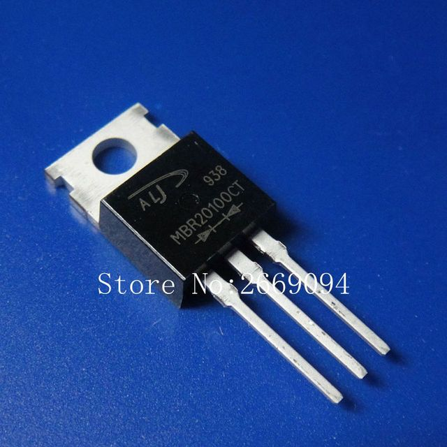 10PCS MBR20100CT TO-220 MBR20100 TO220 20100CT free shipping