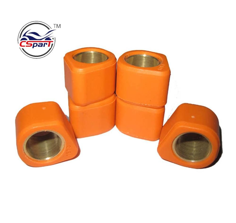 16x13 4G 5G 6G 7G 8G 9G Performance Polygon Variator Rollers Weight For GY6 50 50CC  139QMB Scooter Honda Dio 50cc