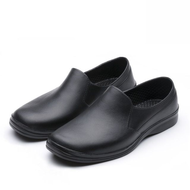 2017 male cook Chef shoes work shoes super non-slip shoes men shoes kitchen cookhouse sandals black size 39-44 gfe9021