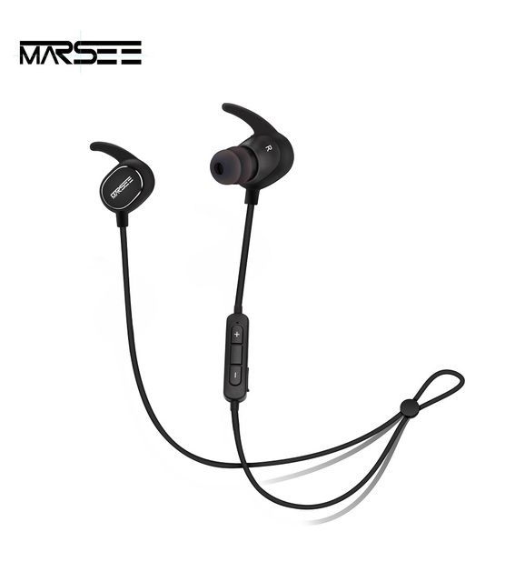 Bluetooth Headphone MARSEE Wireless In-ear Headsets for mobile phone Sport Running Jogging Sweatproof earphone with aptX Stereo
