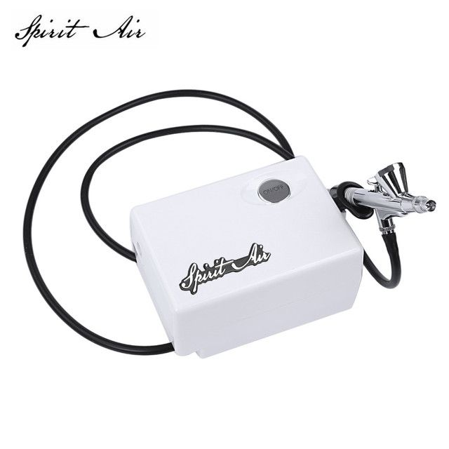 Spirit Air 0.4mm Airbrush Paint Airbrush Compressor Spray Gun Sprayer Pen Kit Makeup Airbrush Cake Needle Body Paint Nail Tattoo