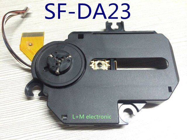 5pcs/lot Brand New  SF-DA23 SF-DA23R SF DA23 DA23R Radio CD Player Laser Lens Optical Pick-ups Bloc Optique