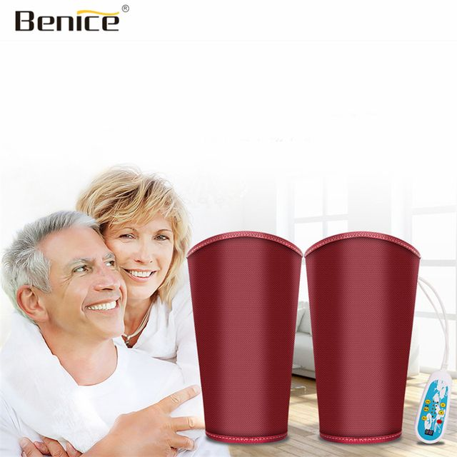 Benice Electric Heated Kneepad Support Belt Knee Massager Warm Old Leg Of The Elderly Arthritis Fever Knee Pain Relief Treatment