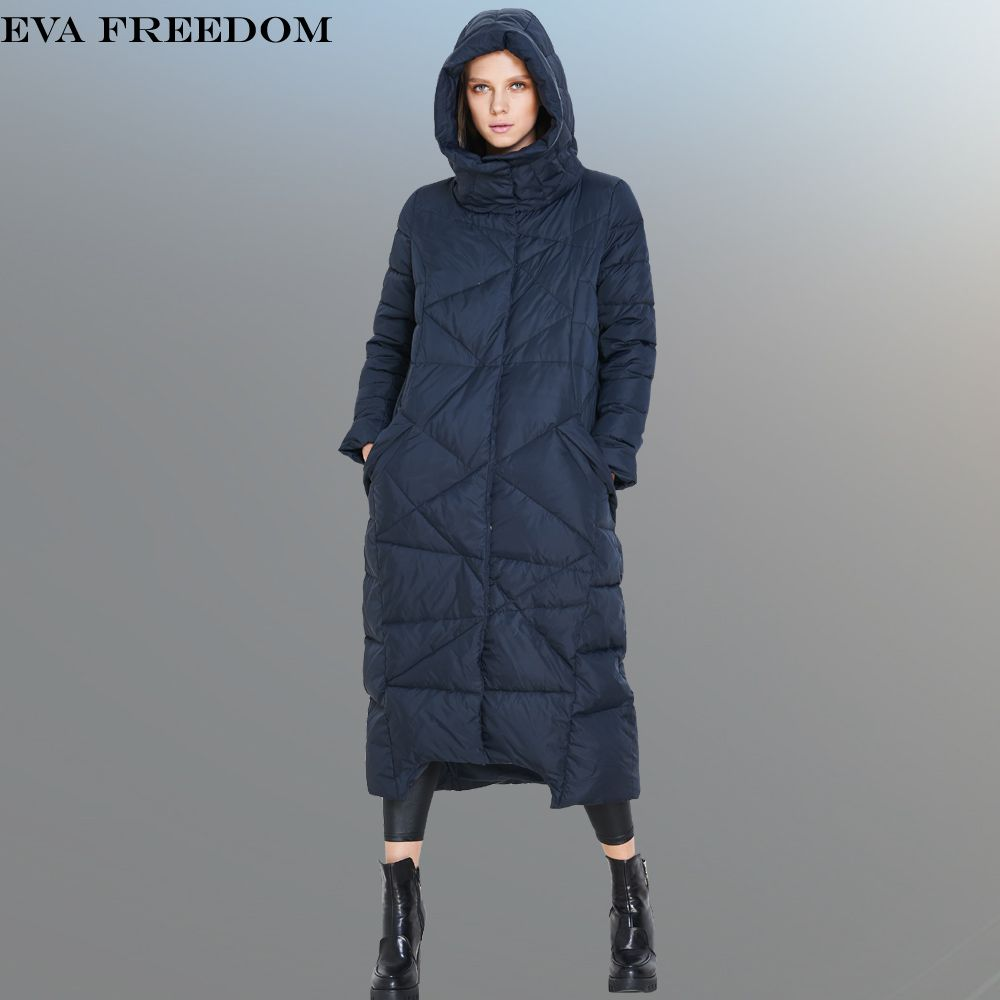 High Quality 2017 Italy Fashion Women Parka Winter Jacket Female X-Long White Duck Down Parkas Coat Thick Hoody Winter Down Coat