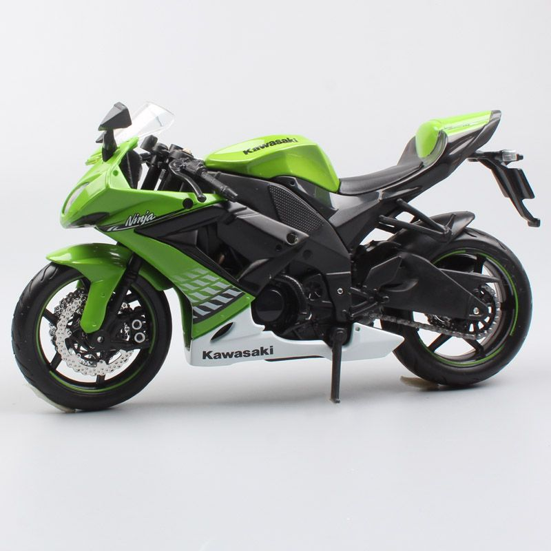 1:12 scale maisto Kawasaki NINJA ZX 10R super bike diecast vehicle motorbike racing motorcycle models toys children's collection
