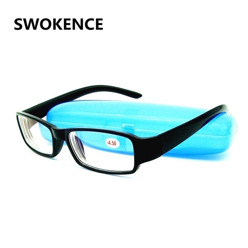 -1 -1.5 -2 -2.5 -3 -3.5 -4 -4.5 -5 -5.5 -6.0 Ultralight Finished Myopia Glasses Women Men Short Sight Eyewear Spectacles G539