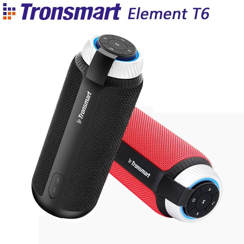 Tronsmart Element T6 Bluetooth Speaker Portable Wireless Speaker with 360 Degree Stereo Sound for IOS Android Xiaomi Player