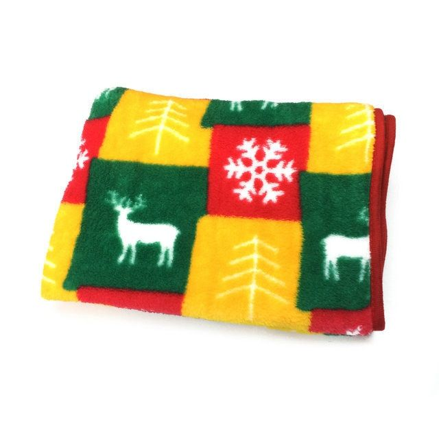 Christmas decoration blanket reindeer decor baby covers new year ornaments festival cover