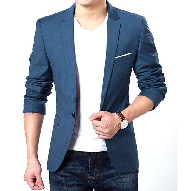Autumn Clothes Men Suit Jacket Casaco Terno Masculino Blazer Cardigan Jaqueta Wedding Suits Jackets
