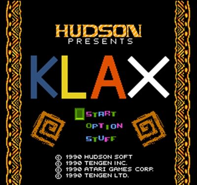 Klax 60 Pin Game Card Customized For 8 Bit 60pins Game Player