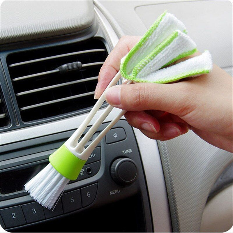 household cleaning Keyboard Dust Collector Air-condition Cleaner Window Leaves Blinds Cleaner brush Duster Computer Clean Tools