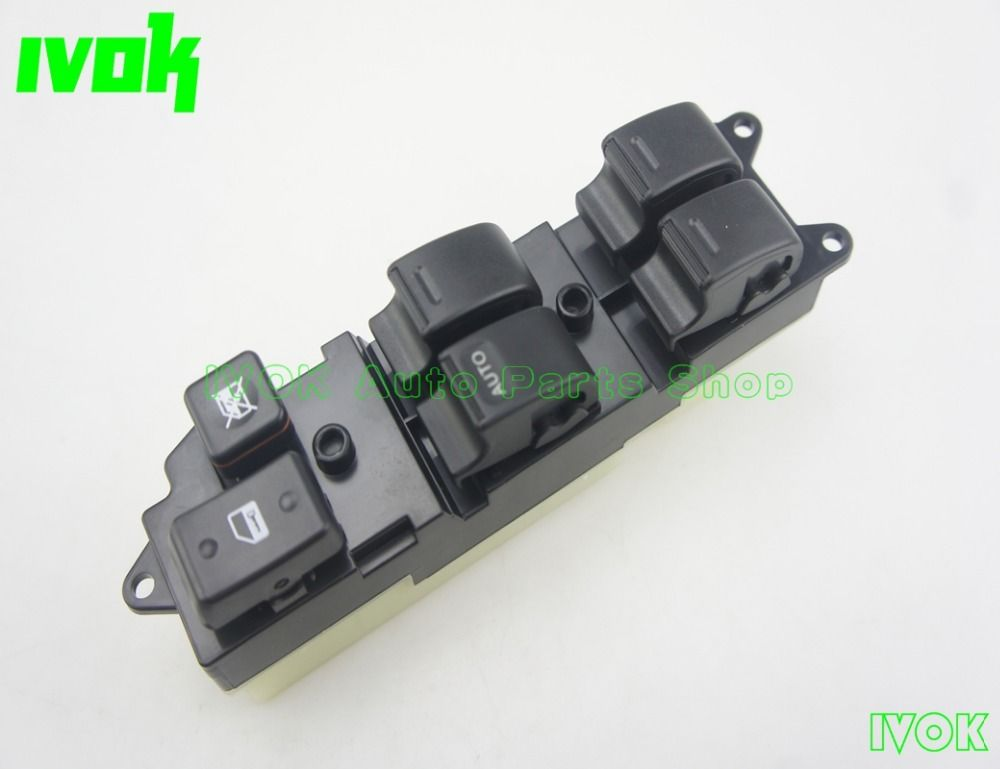 Electric Power Window Master Switch For Toyota 4Runner Pickup Land Cruiser Lexus LX450 84820-35010