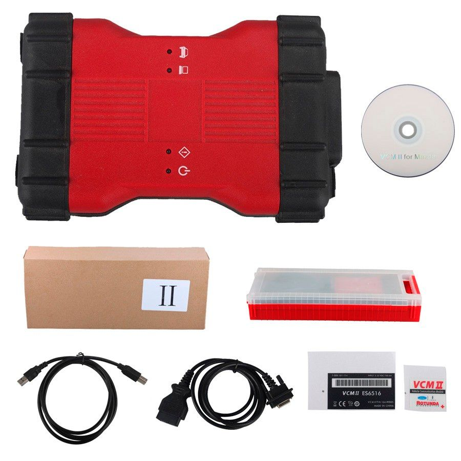 2017 Latest VCM II 2 in 1 Diagnostic Tool for Ford IDS V100.01 and for Mazda IDS V99 By DHL Free