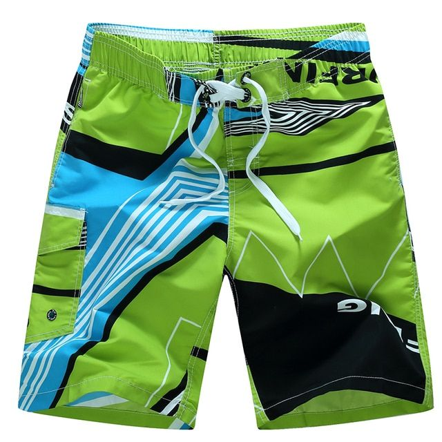 Brand mens surfing & beach shorts masculina de marca quickly dry silver men boardshorts Summer outdoor surf shorts men