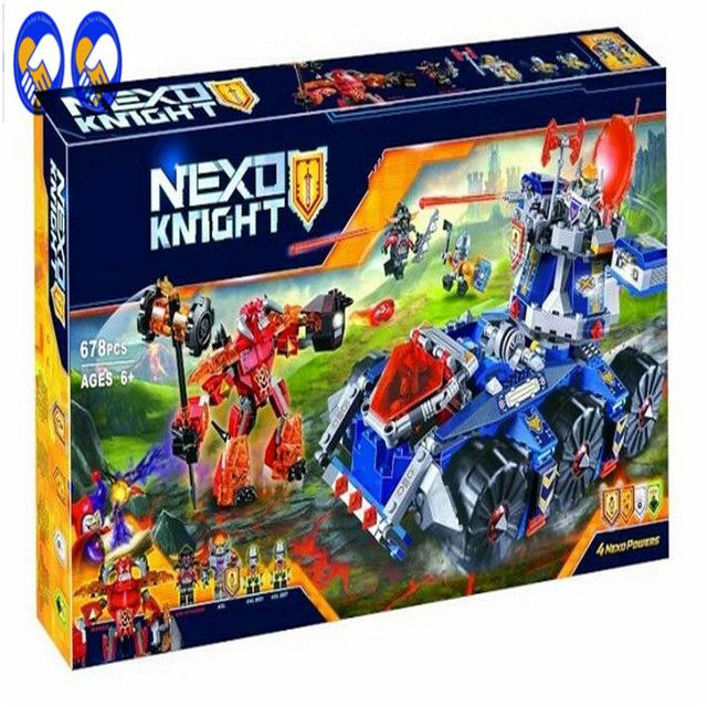 A Toy A Dream Bela 10520 vs 70322 Ninjagoes Knights future tower defense tank Ninja Bricks Toy  Building Blocks toy for children