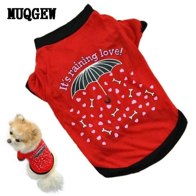 MUQGEW Dog Clothes For Small Dogs Summer Cheap Wears Clothes T-shirt Summer Chihuahua Pet Products For Dog Cachorro Roupa