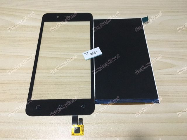 New For Micromax Q380 LCD Display+Touch Screen Digitizer For Micromax q380 Free Shipping