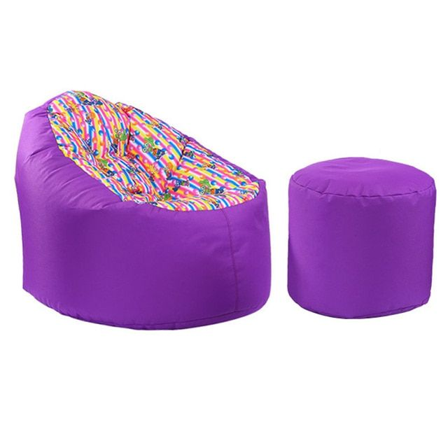 New Arrival Home Supplies Furniture Beanbag Sofa Outside Garden Sofa Soft Bean Bag Sofas Chair for Living Room