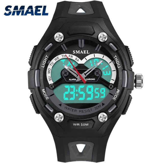 Hot Kids Watch 50m Waterproof  LED Digtial Watch Quartz Swimming Dive Watch Children Best Birthday Gift boys watches kids WS1339