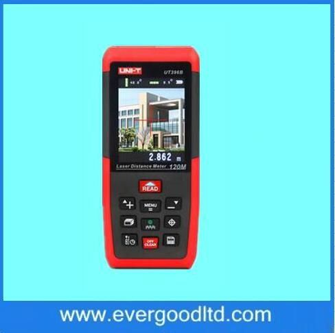 Professional Laser Distance Meters UNI-T UT396B 120M Laser Rangefinder Digital range finder Measure Area/volume Tool