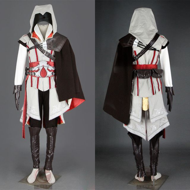 Ezio Auditore Cosplay Costume From Assassin's Creed II Anime